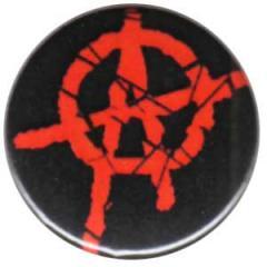 """Zum 25mm Button """"Anarchie (rot) 2"""" für 0,78 € gehen."""