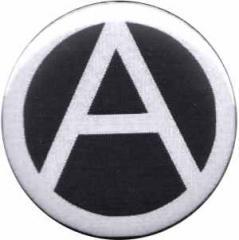 """Zum 25mm Button """"Anarchie (schwarz)"""" für 0,80 € gehen."""