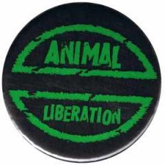 """Zum 25mm Button """"Animal Liberation"""" für 0,80 € gehen."""