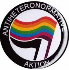"""Zum 25mm Button """"Antiheteronormative Aktion"""" für 0,78 € gehen."""