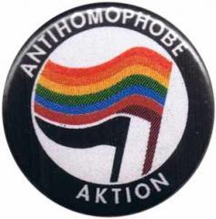 """Zum 25mm Button """"Antihomophobe Aktion"""" für 0,80 € gehen."""