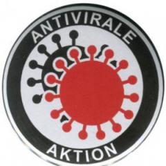 """Zum 25mm Button """"Antivirale Aktion"""" für 0,78 € gehen."""