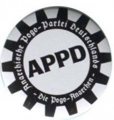 """Zum 25mm Button """"APPD - Zahnkranz"""" für 0,80 € gehen."""