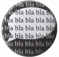 """Zum 25mm Button """"bla bla bla bla bla"""" für 0,80 € gehen."""