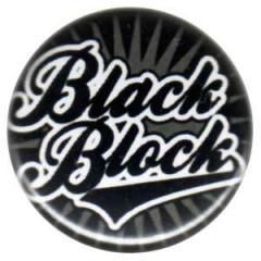 """Zum 25mm Button """"black block (schwarz)"""" für 0,80 € gehen."""