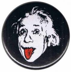"""Zum 25mm Button """"Einstein"""" für 0,80 € gehen."""