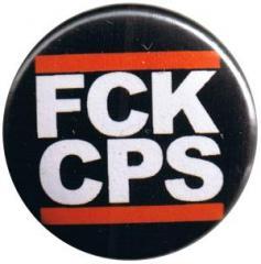 """Zum 25mm Button """"FCK CPS"""" für 0,80 € gehen."""