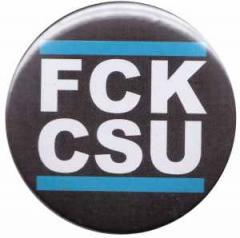 """Zum 25mm Button """"FCK CSU"""" für 0,80 € gehen."""