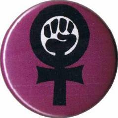 """Zum 25mm Button """"Feminist"""" für 0,80 € gehen."""