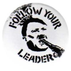 """Zum 25mm Button """"Follow your leader"""" für 0,78 € gehen."""