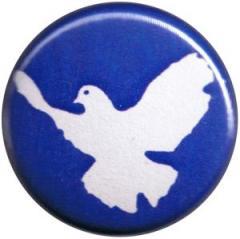 """Zum 25mm Button """"Friedenstaube"""" für 0,80 € gehen."""