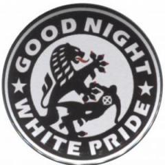 """Zum 25mm Button """"Good night white pride (Dresden)"""" für 1,00 € gehen."""