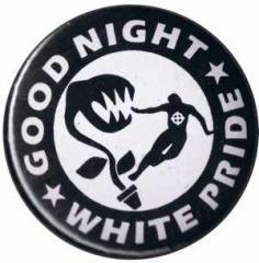 """Zum 25mm Button """"Good night white pride - Pflanze"""" für 0,78 € gehen."""