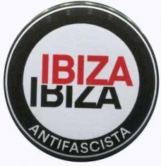 """Zum 25mm Button """"Ibiza Ibiza Antifascista (Schrift)"""" für 0,78 € gehen."""