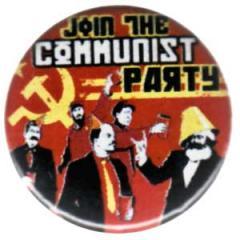 """Zum 25mm Button """"Join the Communist Party"""" für 0,80 € gehen."""