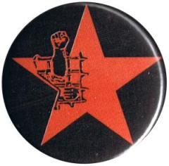 """Zum 25mm Button """"Knaststern (rot, mit schwarzem Hintergrund)"""" für 0,80 € gehen."""