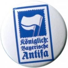"""Zum 25mm Button """"Königlich Bayerische Antifa (KBA)"""" für 0,80 € gehen."""