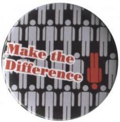 """Zum 25mm Button """"Make the difference"""" für 0,78 € gehen."""