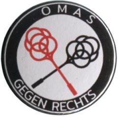 """Zum 25mm Button """"Omas gegen Rechts (Teppichklopfer)"""" für 0,80 € gehen."""