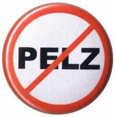 """Zum 25mm Button """"Pelz (durchgestrichen)"""" für 0,80 € gehen."""