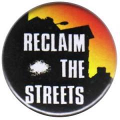 """Zum 25mm Button """"Reclaim the streets"""" für 0,78 € gehen."""