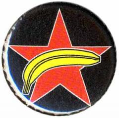 """Zum 25mm Button """"Roter Stern + Banane"""" für 0,80 € gehen."""