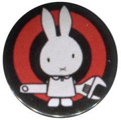 """Zum 25mm Button """"Sabotagehase"""" für 0,78 € gehen."""