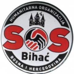 """Zum 25mm Button """"SOS Bihac"""" für 1,00 € gehen."""