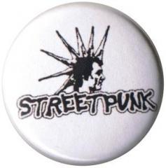 """Zum 25mm Button """"Streetpunk"""" für 0,80 € gehen."""