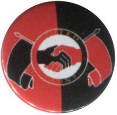 """Zum 25mm Button """"United Front"""" für 0,80 € gehen."""