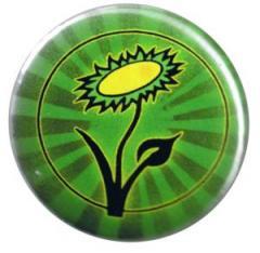 """Zum 25mm Button """"Vegane Blume"""" für 0,80 € gehen."""