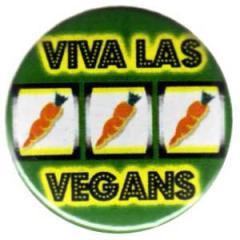 """Zum 25mm Button """"Viva las Vegans"""" für 0,80 € gehen."""