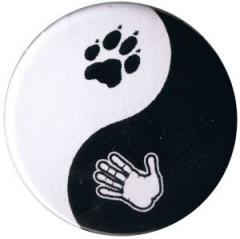 """Zum 25mm Button """"Yin Yang"""" für 0,80 € gehen."""