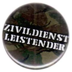 """Zum 25mm Button """"Zivildienstleistender"""" für 0,80 € gehen."""