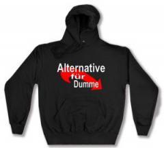 """Zum Kapuzen-Pullover """"Alternative für Dumme"""" für 28,00 € gehen."""