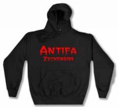 """Zum Kapuzen-Pullover """"Antifa Zeckenbiss"""" für 28,27 € gehen."""