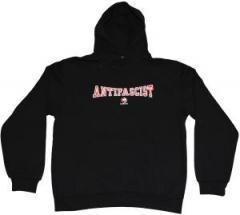 """Zum Kapuzen-Pullover """"Antifascist Always"""" für 34,00 € gehen."""