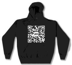 """Zum Kapuzen-Pullover """"Ben Galo QR Spenden Pullover für Sea-Watch"""" für 32,00 € gehen."""