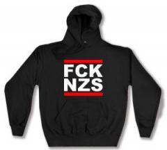 """Zum Kapuzen-Pullover """"FCK NZS"""" für 27,29 € gehen."""