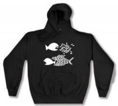 """Zum Kapuzen-Pullover """"Fische"""" für 27,29 € gehen."""