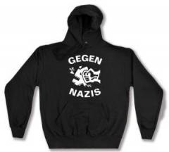 """Zum Kapuzen-Pullover """"Gegen Nazis"""" für 27,29 € gehen."""