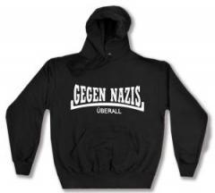 """Zum Kapuzen-Pullover """"Gegen Nazis Überall"""" für 28,00 € gehen."""