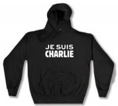 """Zum Kapuzen-Pullover """"Je suis Charlie"""" für 27,00 € gehen."""