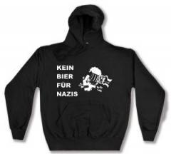 """Zum Kapuzen-Pullover """"Kein Bier für Nazis"""" für 28,00 € gehen."""
