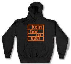 """Zum Kapuzen-Pullover """"Kein Tier ist egal"""" für 28,00 € gehen."""
