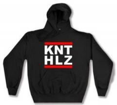 """Zum Kapuzen-Pullover """"KNTHLZ"""" für 28,00 € gehen."""