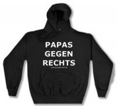"""Zum Kapuzen-Pullover """"Papas gegen Rechts"""" für 27,29 € gehen."""