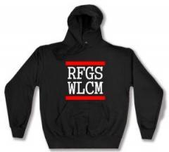"""Zum Kapuzen-Pullover """"RFGS WLCM"""" für 28,00 € gehen."""
