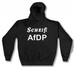 """Zum Kapuzen-Pullover """"Scheiß AfDP"""" für 28,00 € gehen."""