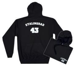 """Zum Kapuzen-Pullover """"Stalingrad 43"""" für 27,29 € gehen."""